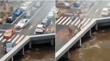 Weird News - Optical Illusion Causes Traffic To Vanish, And Everyone Is Perplexed