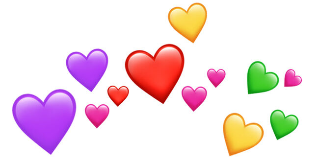 The Color Heart Emoji You Send Actually Means Something