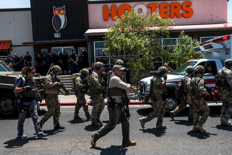 US-SHOOTING-EL PASO
