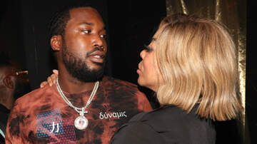 Entertainment - Wendy Williams Kissed Meek Mill At Rick Ross' Album Party: See The Photos