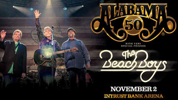 None - Alabama with very special friends The Beach Boys