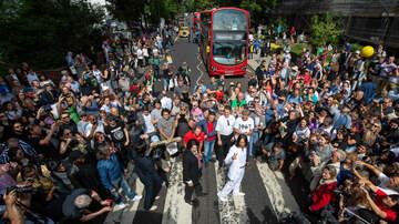 Ken Dashow - Beatles Fans Recreate 'Abbey Road' Traffic Jam On Photo Shoot Anniversary