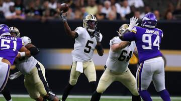 Louisiana Sports - Vikings Look Good On Offense In 34-25 Win Over Saints