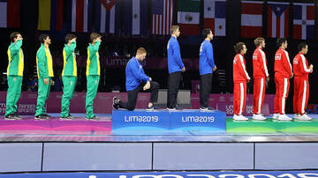Politics - American Gold Medalist Takes A Knee During National Anthem At Pan Am Games
