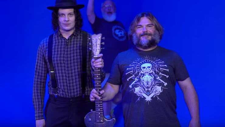 Tenacious D Are Releasing Their Jack White Collab On RSD Black Friday | iHeartRadio