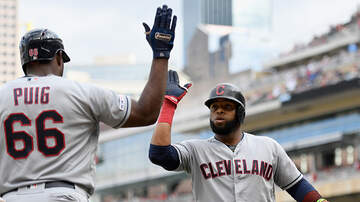 Total Tribe Coverage - Carlos Santana Launches Grand Slam in Extras, Tribe Roll Past Twins 7-3