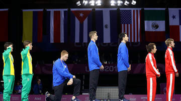 The Sana G Morning Show - US Fencer Kneels At Pan American Games During Gold Medal Ceremony