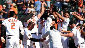 Sports Desk - Orioles Walk Off Astros After Wild Ninth