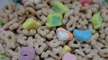 Kramer and Geena Mornings - Lucky Charms selling marshmallow bags only!