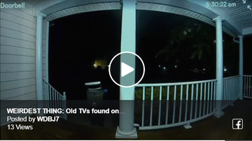 Steve - People woke up in Henrico this weekend with OLD TV sets on their lawns