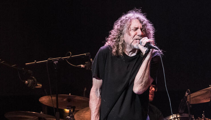 """Robert Plant Was Once Asked By Label President To Stop Doing """"Weird S--t"""" 