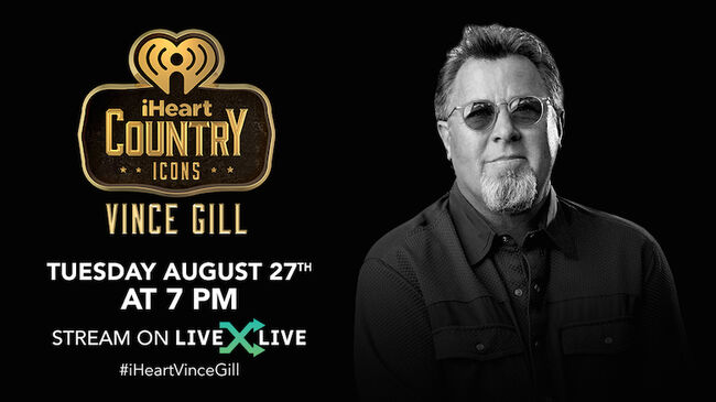 Vince Gill iHeartCountry ICONS