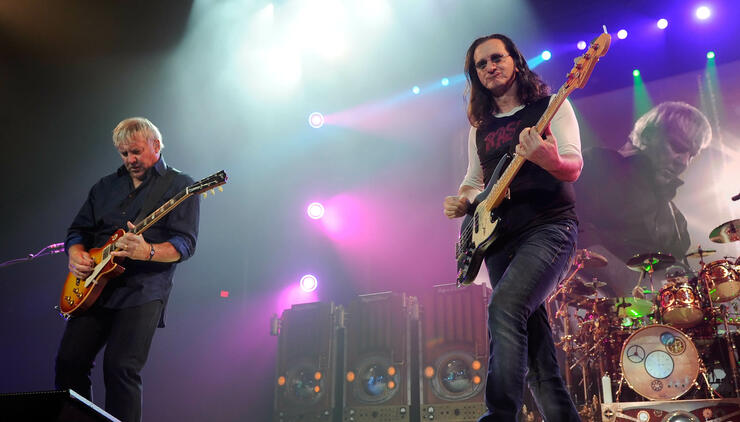 RUSH Offers First Look At Upcoming 'Cinema Strangiato' Film | iHeartRadio