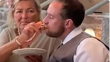 BC - Video Shows Mother-In-Law Feeding Drunk Groom At Wedding