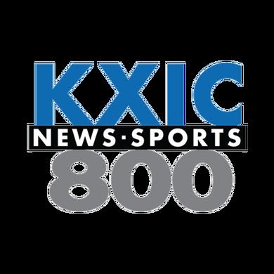 AM800 KXIC logo