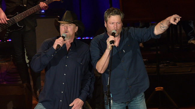 Blake Shelton And Trace Adkins Collaborate For New Single, 'Hell Right'