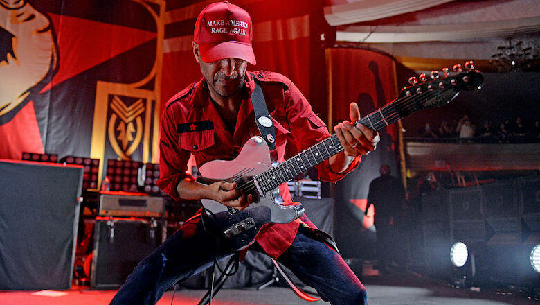 Tom Morello's 'Stand Up' Video Shows Protest Footage From 1963 And 2020