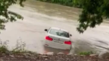 Eddie & Rocky - Angry Son Pushes BMW Into River Because His Parents Didn't Buy Him A Jaguar