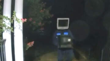 Weird News - Men With TVs On Their Heads Leave Vintage TVs On People's Porches