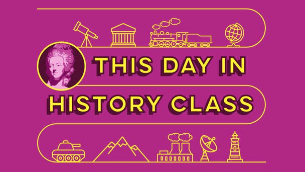 About This Day in History Class