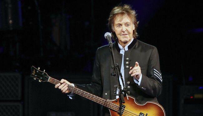US-ENTERTAINMENT-MUSIC-MCCARTNEY-CONCERT