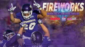 None - WCU Home Opener with Fireworks sponsored by Ingles