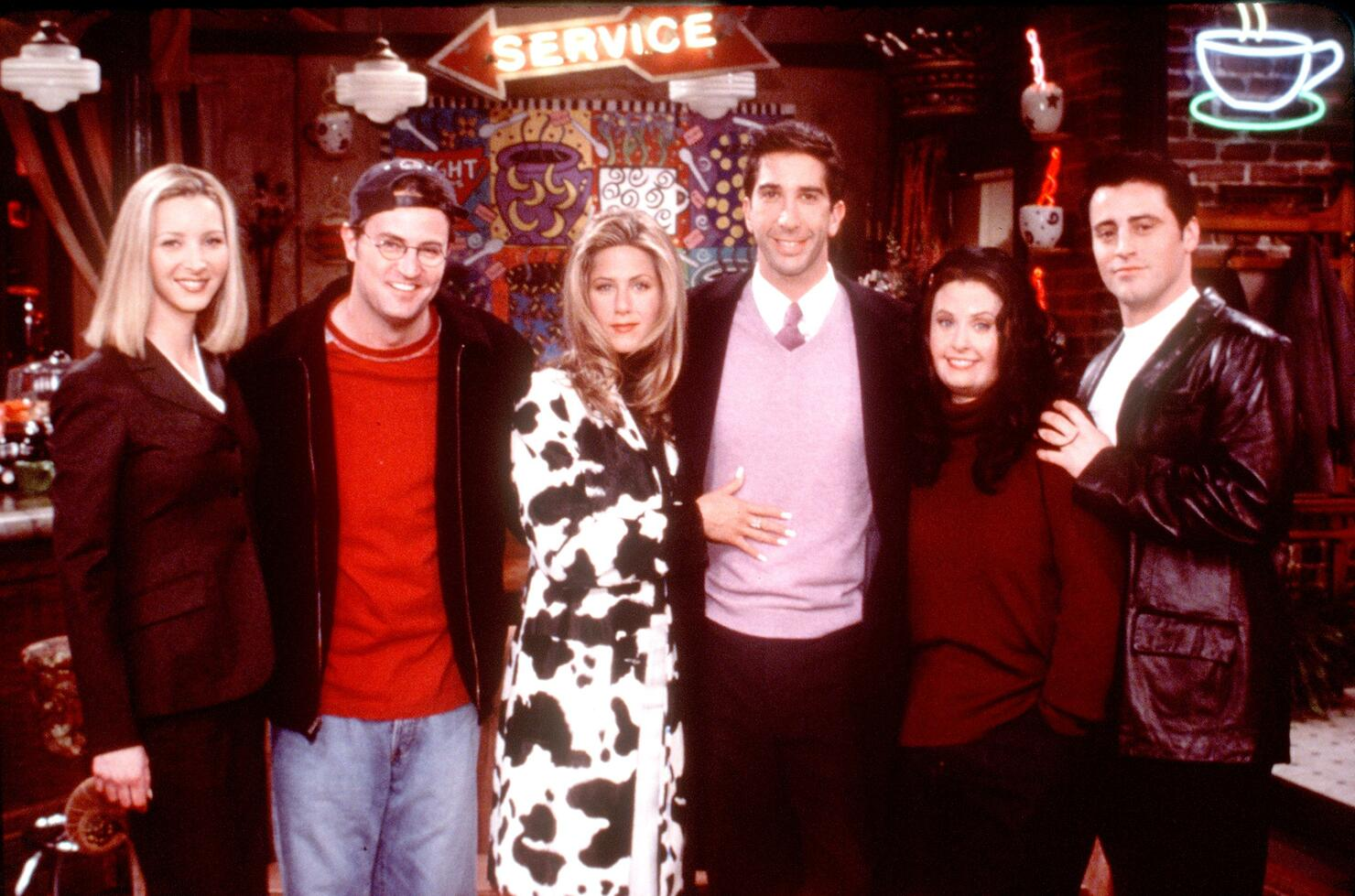 Friends Special Episode The One That Could Have Been, Part One From L R: Lisa Kudrow Matthew Per