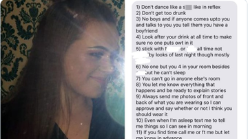 BC - Jealous Guy Makes 12 Ridiculous Rules For Girlfriend's Night Out
