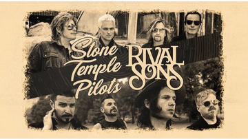Russ Whip Rose - Talking to Robert DeLeo and Scott Holiday about the STP & Rival Sons tour