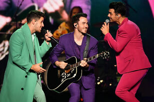 Jonas Brothers Throw It Back To The '80s In 'Only Human' Music Video