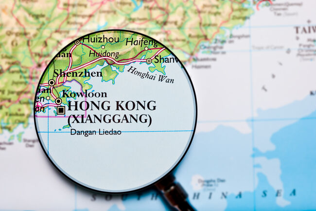 Hong Kong, China map