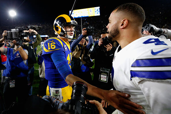 Divisional Round - Dallas Cowboys v Los Angeles Rams