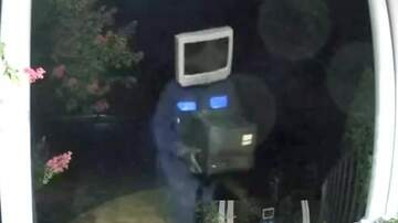 Mike McConnell - Man With TV On His Head Caught On Camera Leaving Old TVs On Front Porches