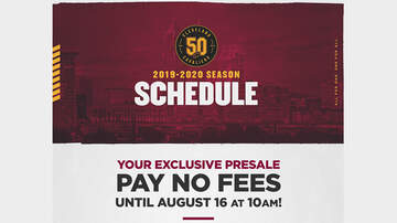 Features - Purchase presale tickets to the Cleveland Cavaliers 2019-20 season