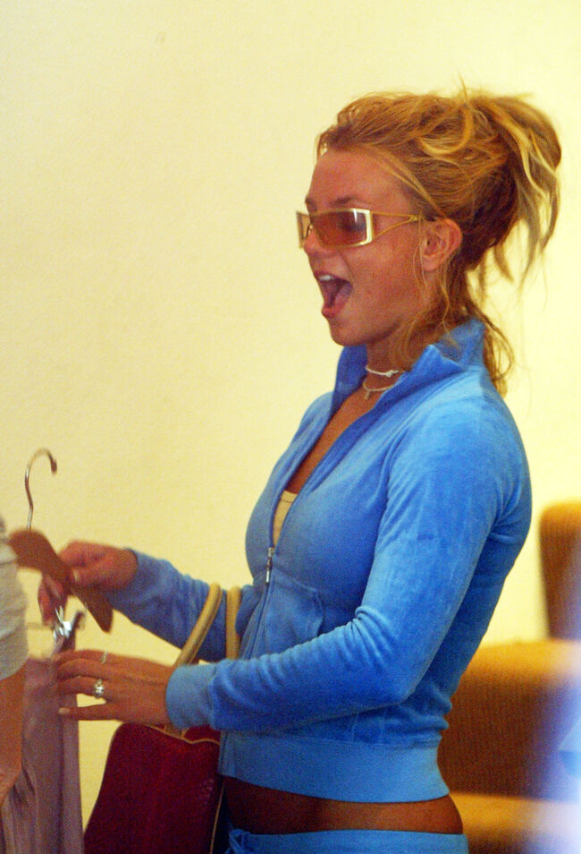 Britney Spears in Hollywood-getty images