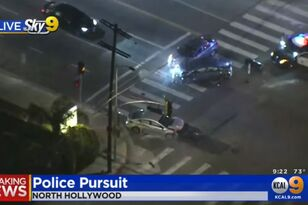 Crazy Pursuit Ends with Massive Crash in NoHo