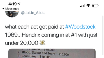 Pauly - Woodstock: How Much Each Act Got Paid