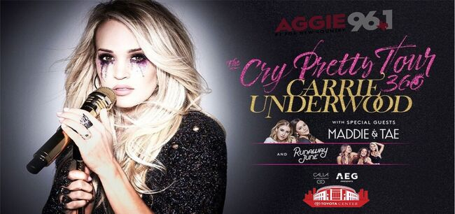 Carrie Underwood Cry Pretty 360 Tour