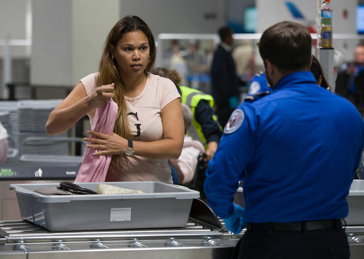 New 3-D Explosives Scanner Installed At TSA Checkpoint At Miami Airport