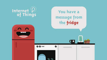 Mary - Her Mom Took Her Phone Away, So She Tweeted From The Smart Fridge