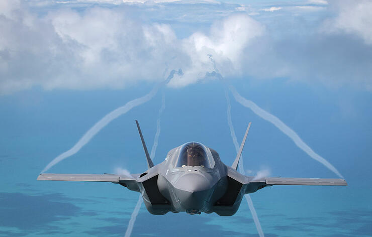 Former Helicopter Pilot Becomes 1st Female Marine to Pilot F-35 Jet | iHeartRadio