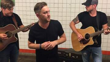 Lindsey Marie - WATCH: Justin Moore Busks In NYC Subway