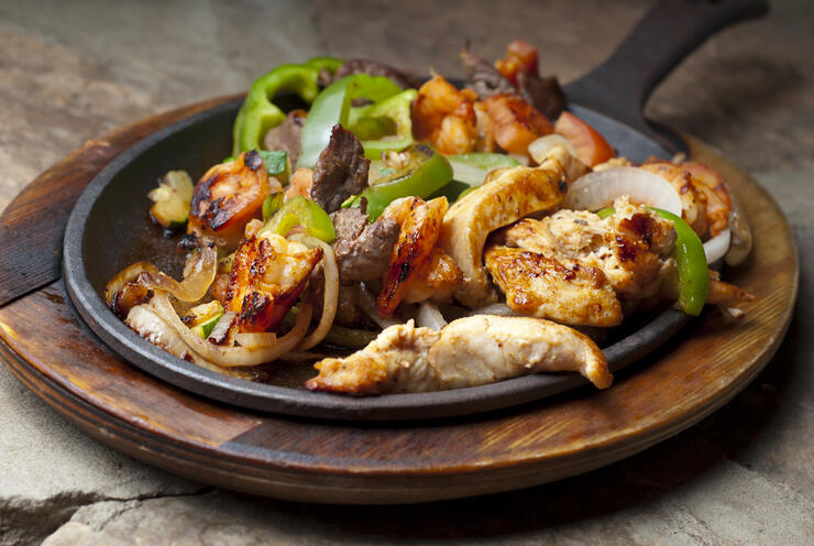 Beef Chicken Shrimp Fajita