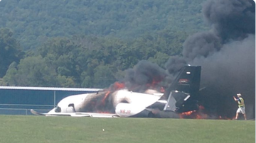 BC - Dale Earnhardt Jr. And Wife Survive Plane Crash In Tennessee