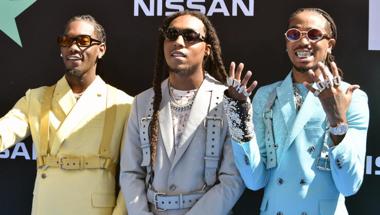 Migos Rob A Bank In New 'Frosted Flakes' Music Video