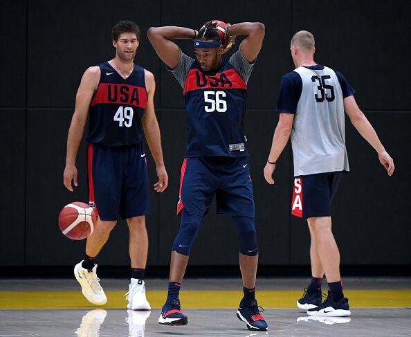 USA Basketball Team Training Camp