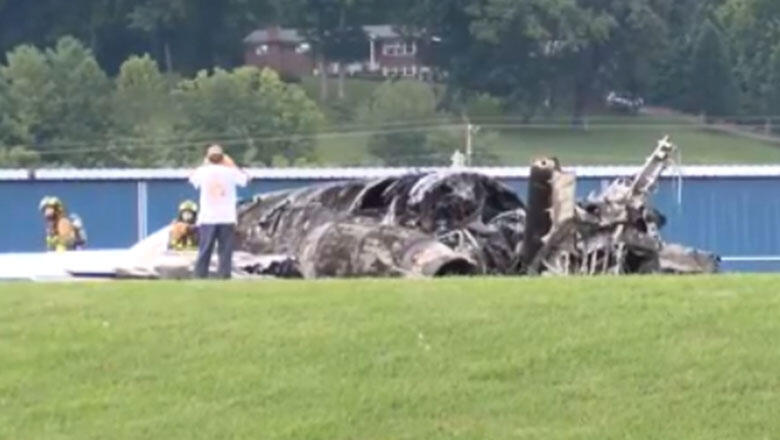 Dale Earnhardt Jr.'s Plane Burst Into Flames After Sliding Off Runway