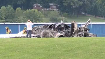 National News - Dale Earnhardt Jr.'s Plane Burst Into Flames After Sliding Off Runway
