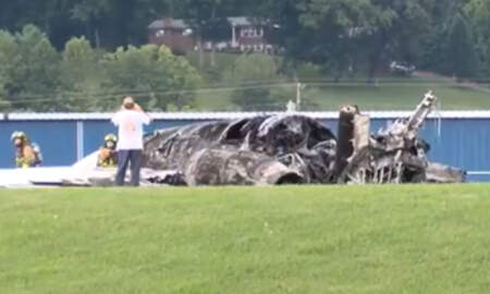 Sports Top Stories - Dale Earnhardt Jr.'s Plane Burst Into Flames After Sliding Off Runway