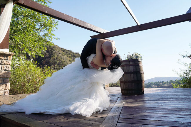 Stefany Ornelas And Alex Washer's Vows At Serendipity